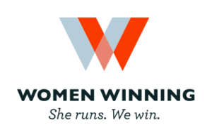 Women Winning — She runs. We win.